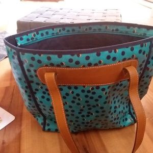 Fossil Bags - Fossil gorgeous coated tote